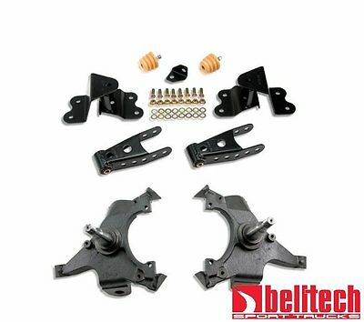 Belltech 92-98 Silverado Std Cab 2/4 Drop Lowering Kit 685