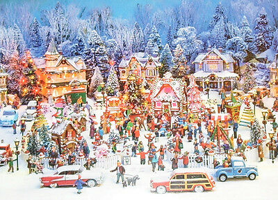CHRISTMAS IN THE PARK by Richard Coyne 750 Piece Jigsaw Puzzle