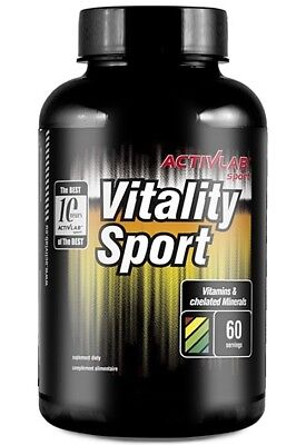 ActivLab Vitality Sport 120 caps. Vitamins & Chelated Minerals ! free shipping.