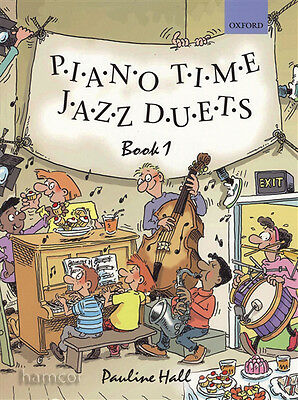 Piano Time Jazz Duets Book 1 Oxford Piano Method Sheet Music Book Pauline Hall