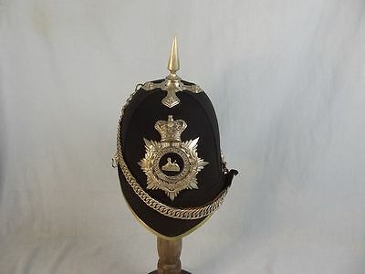 Victorian 2nd Volunteer Battalion South Lancashire Regiment Officer's Helmet