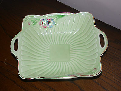 Crown devon Square dish colourful and in very good condition (190A)
