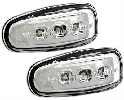 Clignotants Lateraux Led Mercedes Vito 638 02/1996-08/2003 Chrome