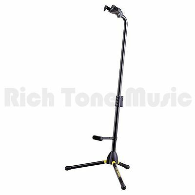 Hercules GS412B Single Auto Grab Guitar Stand with Foldable Back