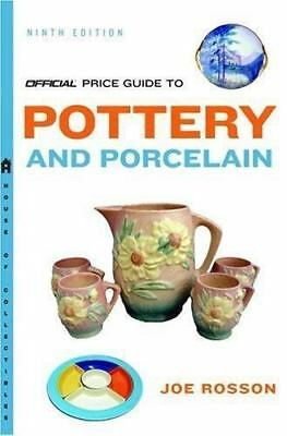 The Official Price Guide to Pottery and Porcelain-ExLibrary