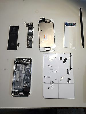 Repair Service iPhone 5s broken cracked glass screen digitizer LCD
