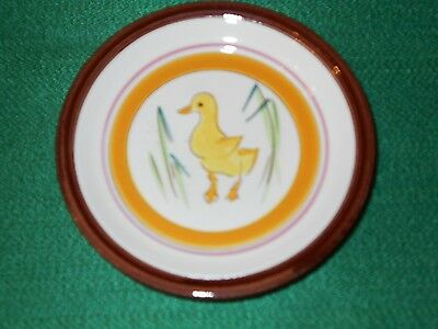 """MINT!! Stangl Pottery Country Life 5"""" Duck Coaster Perfect!!!"""