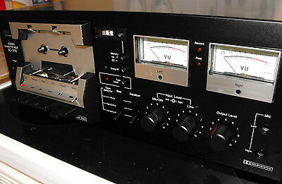 Sansui SC-3110 Stereo Cassette Deck With All New Belts Installed & Power Caps