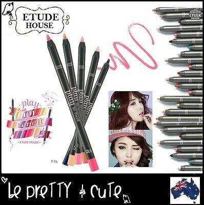 ETUDE HOUSE PLAY 101 MULTI PENCIL Eyeshadow Eyeliner Lip Liner Blush 50 colours