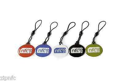 5 ZipNFC NFC Hang Tags NTAG213: Windows  Nokia Samsung Sony HTC LG