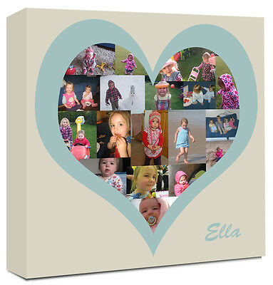 Personalised Photo Collage Canvas - FANTASTIC GIFT