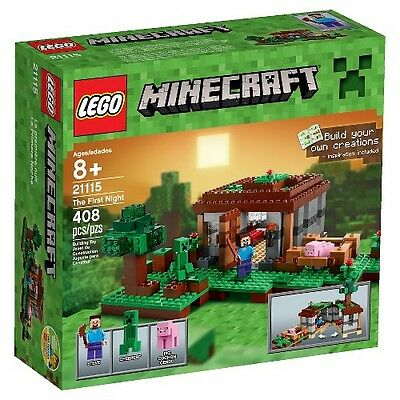 LEGO® Minecraft Creative Adventures The First Night 21115