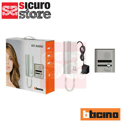 Kit Citofono Audio Bticino 2 Fili 316113