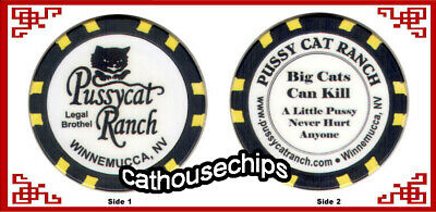 Pussycat Ranch, Winnemucca,Nevada  Brothel Collectors Chip