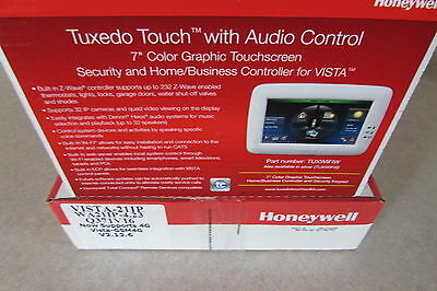 Honeywell Vista-21IP V21IP Panel IP & Tuxedo TUXWIFIW Graphic Keypad TUXWIFI
