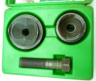 Greenlee 737 Knock Out Punch Set   - Great  Condition -  Used