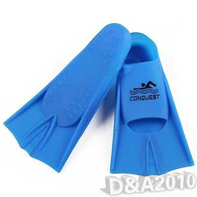 Swimming Snorkeling Scuba Diving Swim Silicone Flippers Fin For Kids Adults New