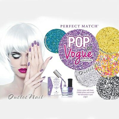 LeChat Perfect Match POP OF VOGUE 2014 Collection Gel Polish + Nail Lacquer