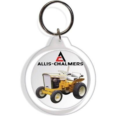 ALLIS CHALMERS B110 TRACTOR ENGINE KEY FOB RING KEYCHAIN IGNITION STARTER