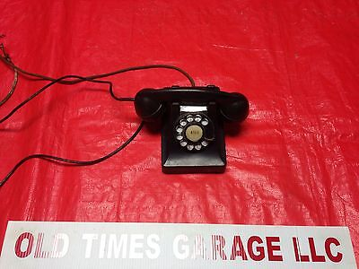 Vintage Western Electric Bell Systems Telephone Display Art Deco Rotary Dial