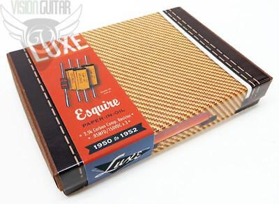 Luxe 1950-52 Single Pick-up Esquire Capacitor & Resistor