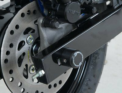 Honda MSX125 (GROM 125) 2013-2017 R&G racing black rear spindle sliders