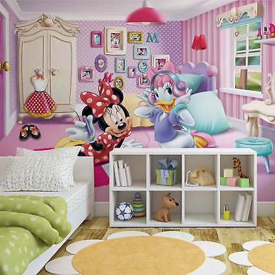 WALL MURAL PHOTO WALLPAPER PICTURE (1579P) Disney Minnie Mouse Girls Kids