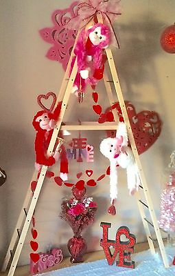 3-WAY Holiday or Plant Ladder Decoration 8ft or A-frame or (2) 4ft Ladders