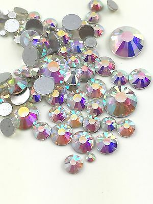 Assorted Sizes AB Crystal Glass Rhinestone No-Hotfix Decoration AVANT CRYSTAL