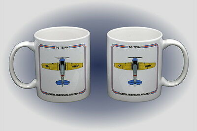 T-6 Texan Coffee Mug - Dishwasher and Microwave Safe