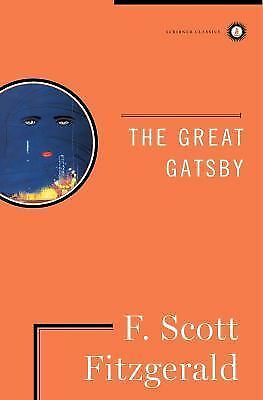 THE GREAT GATSBY by F. Scott Fitzgerald (Hardcover, 1996): a Novel FREE SHIPPING