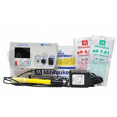 Milwaukee Instrumnets MC110 pH Continuous Monitor Meter, SMS110