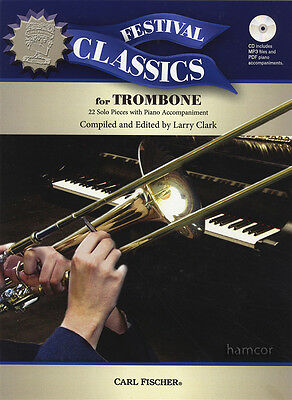 Festival Classics for Trombone Sheet Music Book & MP3 Play-Along CD