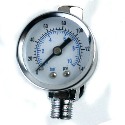 "ScratchDoctor Mini Air Regulator Spray Paint Gun Dial Gauge 1/4"" HVLP Compressor"
