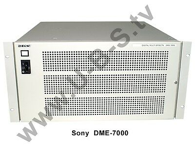 Sony DME-7000 + BKDM-3010 (Control Panel for DME-7000)