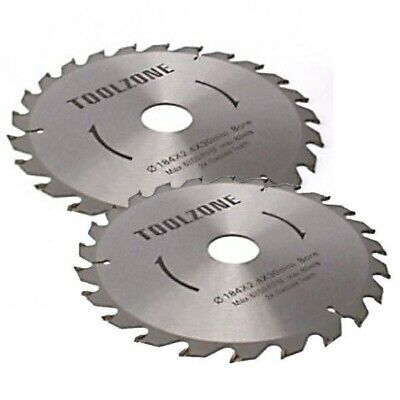 2PC 250MM TCT CIRCULAR SAW BLADES 40 & 60 TEETH WITH ADAPTER O RINGS chop