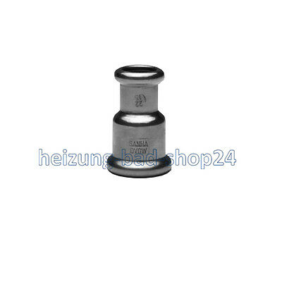 Sanha Copper Press Fitting Reduzieren Sleeve, No. 6240, for Pipe