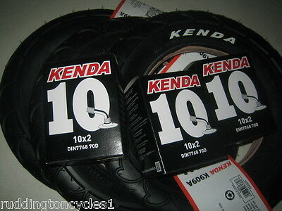 Kenda pram pushchair stroller buggy tyres 10 x 2  and a choice of angled tubes