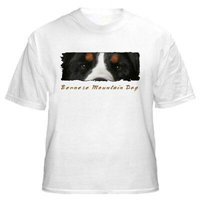"Bernese Mountain Dog  ""The Eyes Have It "" Custom Tshirt"