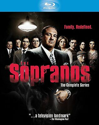 THE SOPRANOS COMPLETE SERIES HBO BLU-RAY 28-DISC BOX SET REGION-FREE BRAND NEW