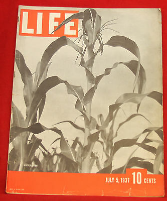 Life Magazine July 5, 1937 Vintage Ads Hires Root Beer Index in Photos