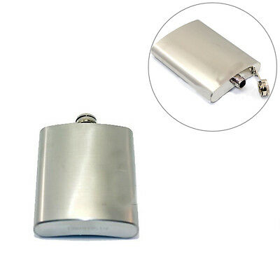 Classic Stainless Steel Hip Liquor Whiskey Alcohol Flask Cap 4/5/6/7/8/9 OZ CC