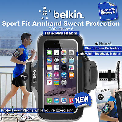 Belkin Slim-Fit Plus Armband Hand Washable Sweat Protection for iPhone 6