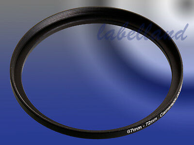 67mm-72mm Filter Adaptor Ring Converts 67mm lens thread to 72mm 67-72 Step-Up