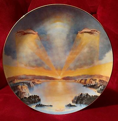 IN THE BEGINNING - Yiannis Koutsis 1977 Collector's Plate