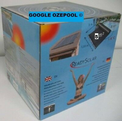 SOLAR 5 KIT  DIY, Pool Too Cold? Affordable manual kit pre made for easy install