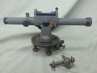 Old vintage Sears Roebuck Craftsman builders level survey equipment transit