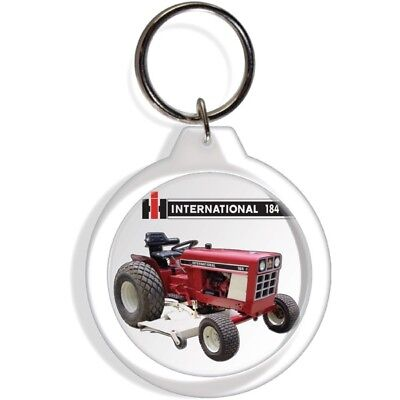 International Harvester Ih Farmall 184 Farm Tractor Fob Keychain Key Ring Hook