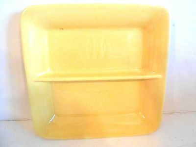 Vintage Stangl Toastmaster Yellow Hors D'oeuvres Relish Vegetable Tray