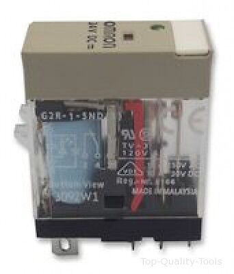 G2R-1-Snd 24Dc - Omron Industrial Automation - Relay, Spdt, 10A, 24Vdc, Plug In